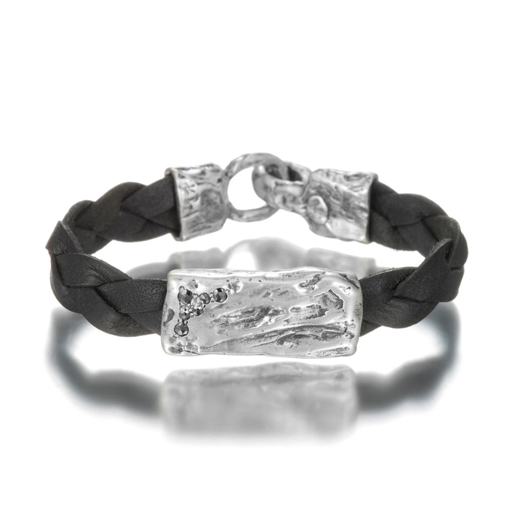 Wild River Black Diamond Bracelet - Men
