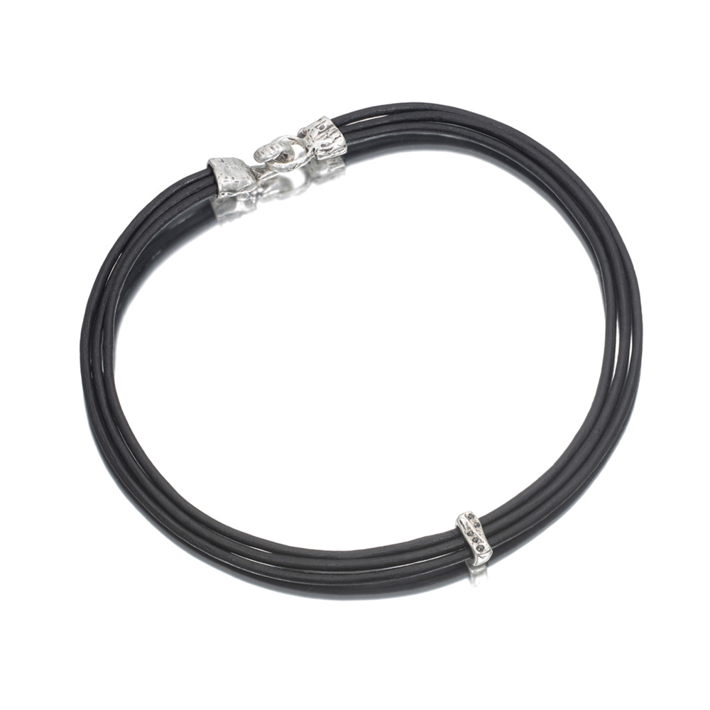 Solitary River Black Diamond Choker