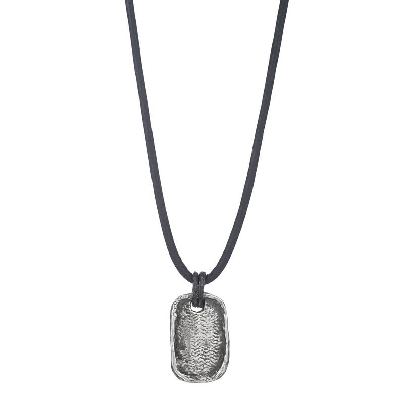 Weathered Dog Tag