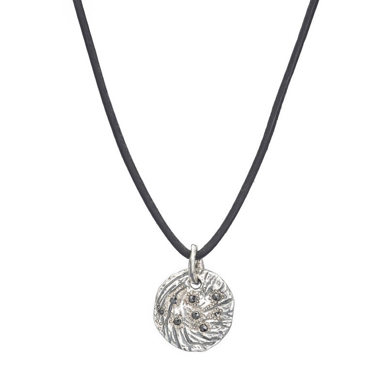 Petite Eclipse Black Diamond Necklace
